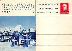 B22842 Zimne Sletove Hry Vo Vysokych Tatrach les Jeux d Hiver dans les Hautes
