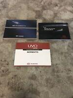 2013 Kia Sorento Owners Manual With Navigation OEM Free Shipping