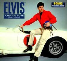 ELVIS and HIS TOYS / Elvis Presley - 2014 Wall Calendar