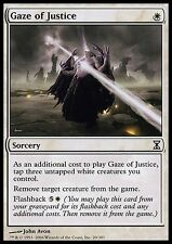 Gaze of Justice X4 EX/NM Time Spiral MTG Magic Cards White Common Removal