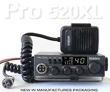 Pro520Xl Uniden 40-Channel Cb Radio Large Led Channel Display