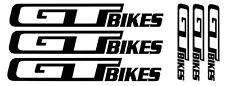 6 pegatinas de vinilo GT para bicicleta,no 243