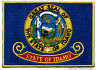 IDAHO STATE FLAG PATCH embroidered iron-on EMBLEM ID applique emblem NEW BEST