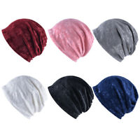 LN_ EG_ Women's Winter Hat Flower Collar Scarf Casual Outdoor Skip Cap Warm Be