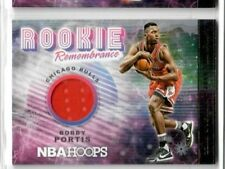 BOBBY PORTIS 2018 19 Hoops HOLIDAY WINTER SNOWFLAKE ROOKIE REMEMBRANCE JERSEY