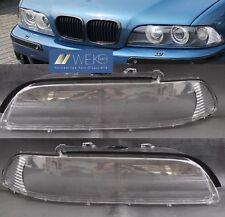 Scheinwerferglas Set Satz Streuscheibe rechts links BMW 5er E39 Facelift