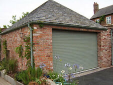 **SALE** Chartwell Green 77mm Electric Insulated Roller Garage Door
