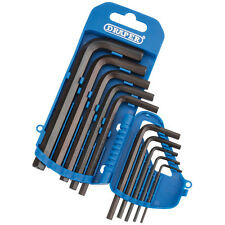 DRAPER 33687 10pc Metrica Esagonale Allen key set 2mm - 10mm