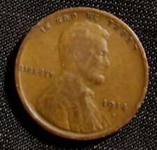 1914-S 1C BN Lincoln Cent