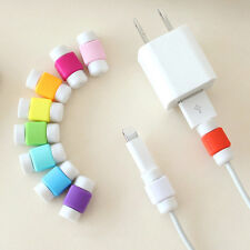 20X Protector Saver Cover for Apple iPhone Lightning Charger Cable USB Cord TR