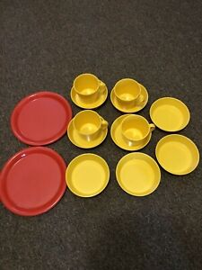 Melamine Dishes and Cups Assorted