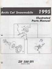 1995 ARCTIC CAT SNOWMOBILE  ZR 580 EFI  PARTS MANUAL P/N 2255-169 (751)
