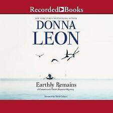 Earthly Remains by Donna Leon (2017, Unabridged) 9 CDs