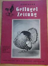 Geflügelzeitung 7/1961 Nymphensittich W. Ulbricht  Reichshuhn Sussex Lachshuhn