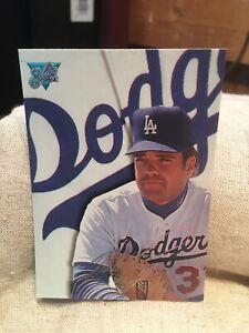 1993 Studio Signature Card Mike Piazza Los Angeles Dodgers  #201 Baseball Card