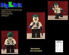 JOKER Suicide Squad 2nd Gen Custom Printed & Inspired Lego DC Minifigure!