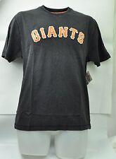 MLB San Francisco Giants Wright & Ditson Men Medium Tshirt Black Vintage Faded