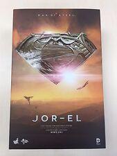 Hot Toys MMS 201 Man of Steel Superman Jor-El Russell Crowe 12 inch Figure NEW