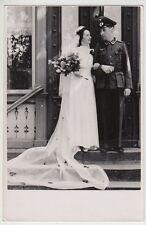 (F1042+) Orig. Foto Wehrmacht-Soldat, Hochzeit, 1940er
