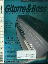 Gitarre & Bass 1997/01 (Rage Against The Machine)