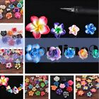 Wholesale Mixed Polymer Fimo Clay Flowers Spacer Loose Beads Craft 11-30mm