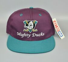 Anaheim Mighty Ducks CCM Vintage 90's NHL Adjustable Snapback Cap Hat - NWT