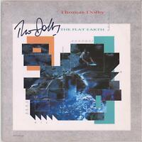 Thomas Dolby Autographed The Flat Earth Album JSA Certified - Music Albums