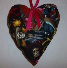 Imbottito da appendere cuore fatto a mano (), Goth Stile, tutti Unici