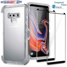 For Samsung Galaxy Note 9 10 20 S20+ S10e Case Clear Cover Protective Heavy Duty