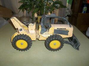 Vintage 1/16 John Deere 740 Log Skidder Farm Construction Toy To Restore !