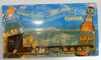 GRELL HO 1/87 CAMION SEMI TRUCK TRAILER MB MERCEDES ACTROS GESSNER BEER BIERE