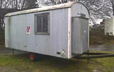 Bauwagen 500cm   Baubude Container 1-Achser   500cm x 225cm     Nr. 11