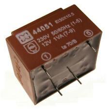 myrra MY44051 Trafo 230V Printtrafo 1VA 12V Netztrafo Transformator 107581