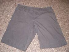 Women's Patagonia Shorts Organic Cotton Size 8 Flat Front Bermuda