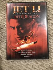 Jet Li Legend of red dragon DVD RARE
