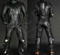 Brand New Double Zip Men One Piece Motorcycle Racing Suit Available in All Sizes