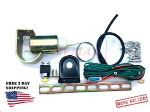 Universal Electronic Power Trunk Pop Release IMPROVED  Solenoid Kit Car Alarm