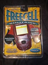 VINTAGE RADICA FREECELL 8019 SOLITAIRE ELECTRONIC HANDHELD TRAVEL GAME NEW