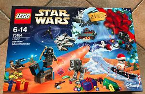 BOITE SET LEGO VAISSEAU STAR WARS 75184 CALENDRIER DE L'AVANT AVEV BB-8 DROID