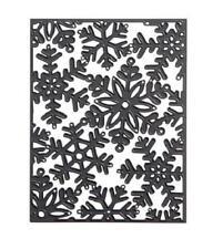 Darice Cutting Die Background SNOWFLAKE Die Cut Embossing Stencil 30001246