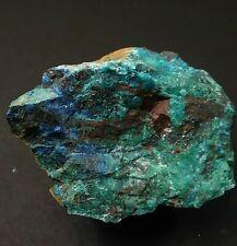 Ajoite, Shattukite and Papagoite Crystal #2 new Cornelia mine Arizona 142 grams