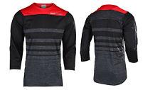 Troy Lee Designs Ruckas Streamline HTR red/black/Grey 2XL