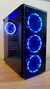 GAMING PC MONSTER FAST INTEL CORE i7 3.40GHz 16GB RAM GTX 1060 240GB SSD 2TB