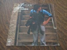 45 tours BOB DYLAN changing of the guards