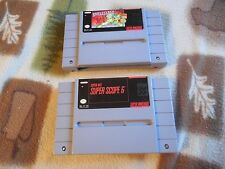 Battle Clash Super Nintendo SNES + Super Scope 6 snes CLEANED AND TESTED