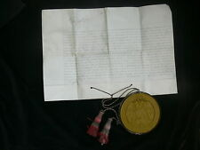 Chile - Queen Victoria Signed 1893 Diplomatic Letters Present & Great Seal