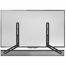 TV Wall Mount Sound Bar Mounting Bracket Universal Above or Under up to 22 Lbs.