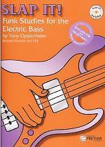 SLAP IT Funk Studies for Electric Bass Book/CD*