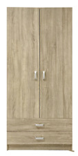RRP $399 Wardrobe 2 Door 2 Drawer Robe Ready to Assemble Newcastle Sydney