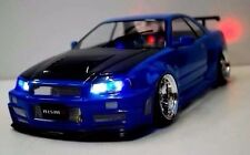 TAMIYA NISMO R34 GT-R Z-tune  1/10 RC 187mm Clear Body PANDORA D-Like YOKOMO